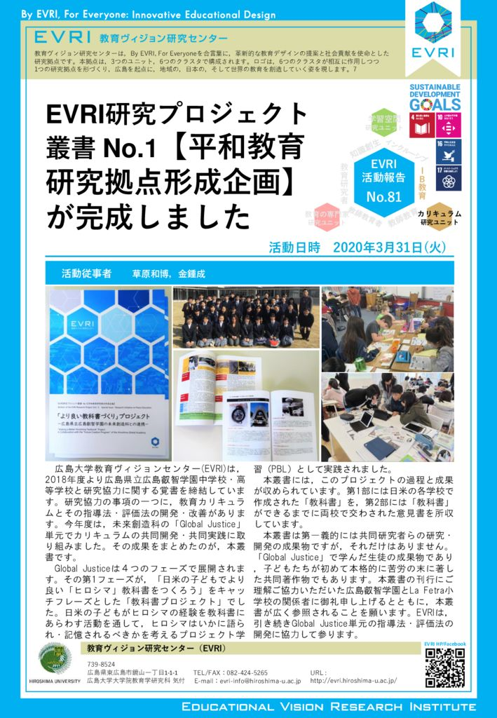 EVRI Letter no.81のサムネイル